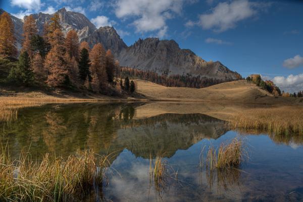 Gite les astragales photos for Lac miroir queyras